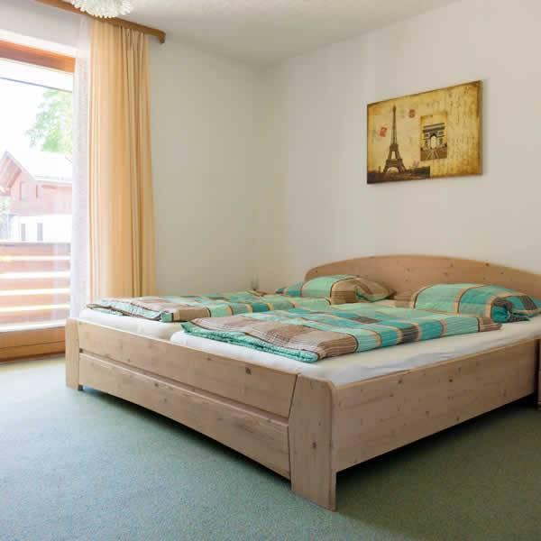 Antdorfer Gästehaus Doppelzimmer Schlafbereich